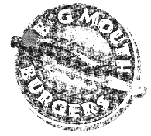 BIG MOUTH BURGERS & Design