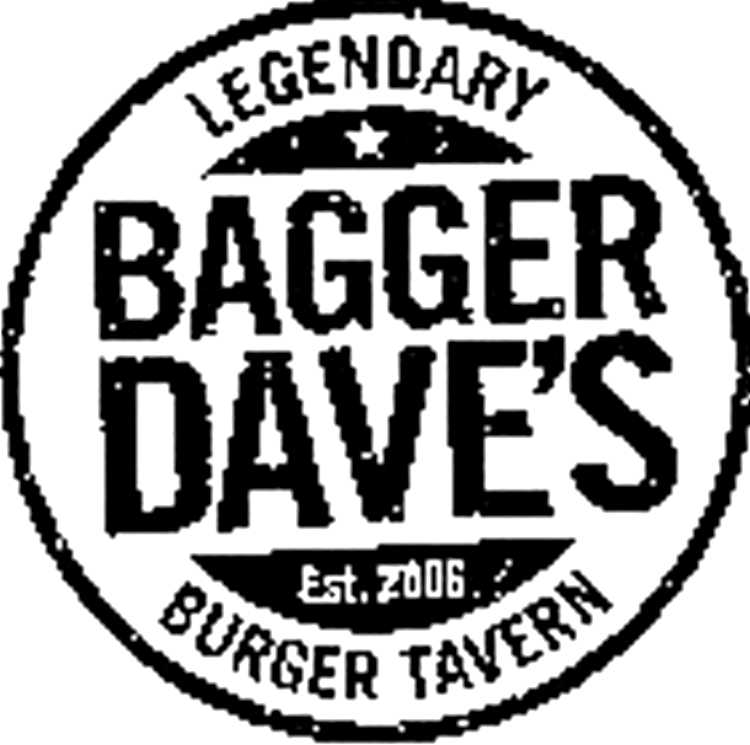 BAGGER DAVE'S LEGENDARY BURGER TAVERN Est. 2006 Design