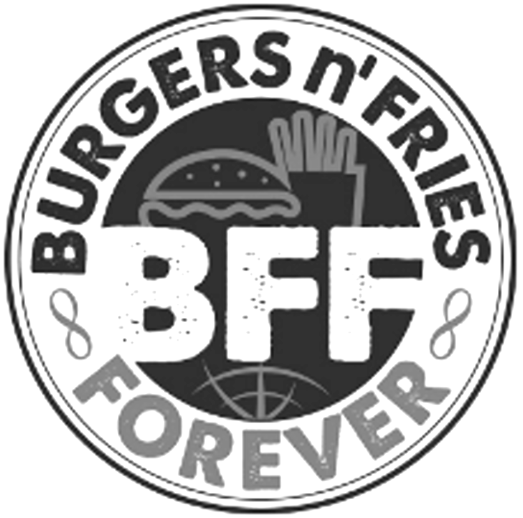 BURGERS N' FRIES FOREVER BFF Design