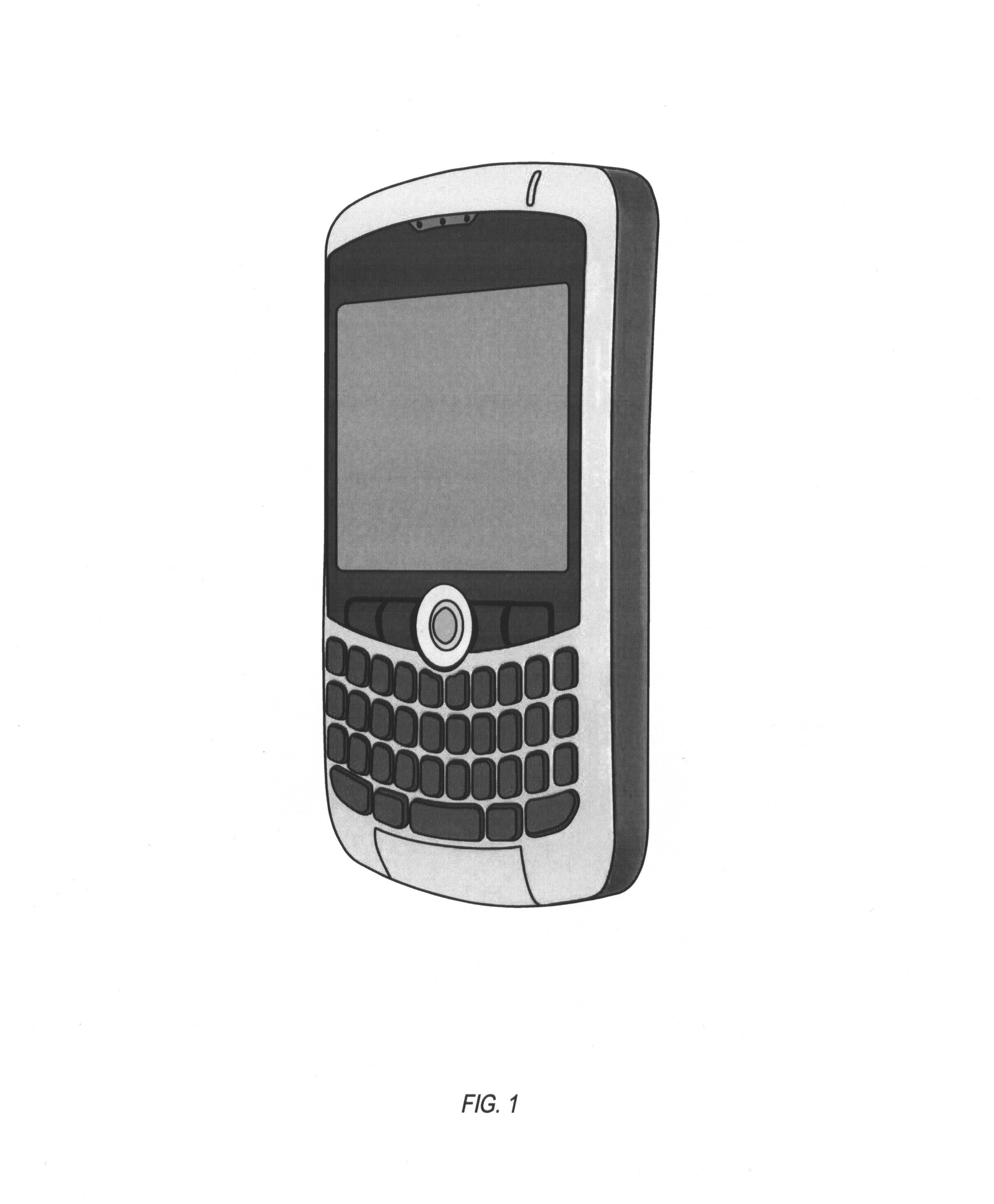 125919 HANDHELD ELECTRONIC DEVICE