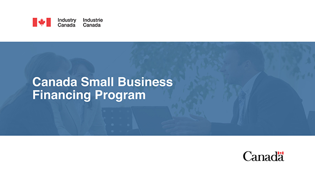 Canada Small Business Financing Program - Home - Canada