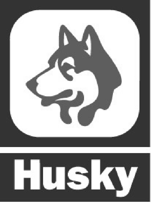 HUSKY & DOG HEAD design