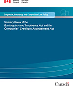 Oct 11, 2019 S.C., 1985, c. B-3  XML Full Document: Bankruptcy and Insolvency Act 1093 KB