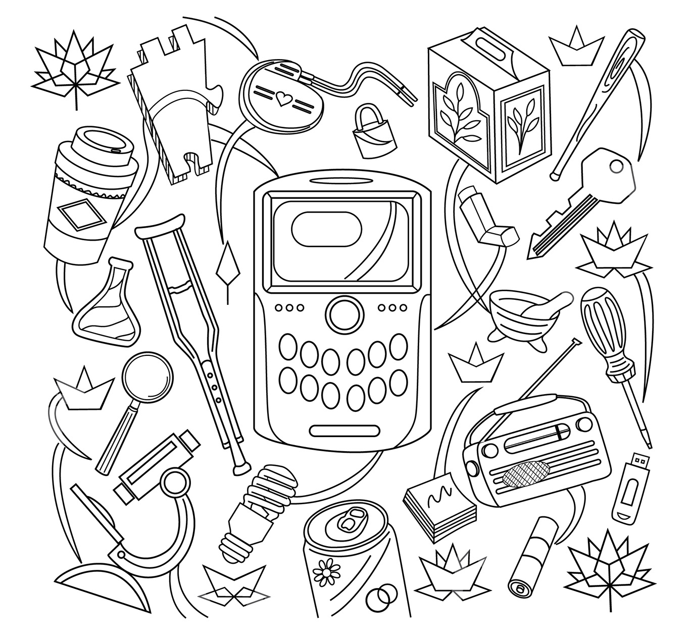 A book of canadian innovation canadian intellectual property office colouring page featuring sample items that could be subject matter for patent registration and a description biocorpaavc Images
