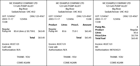 V27Content and suggested format for retail printed receipts