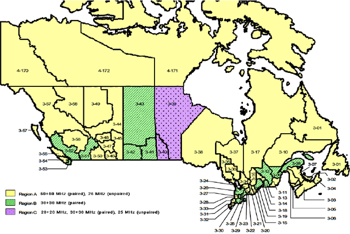 Rogers LTE Frequency - Rogers us coverage map