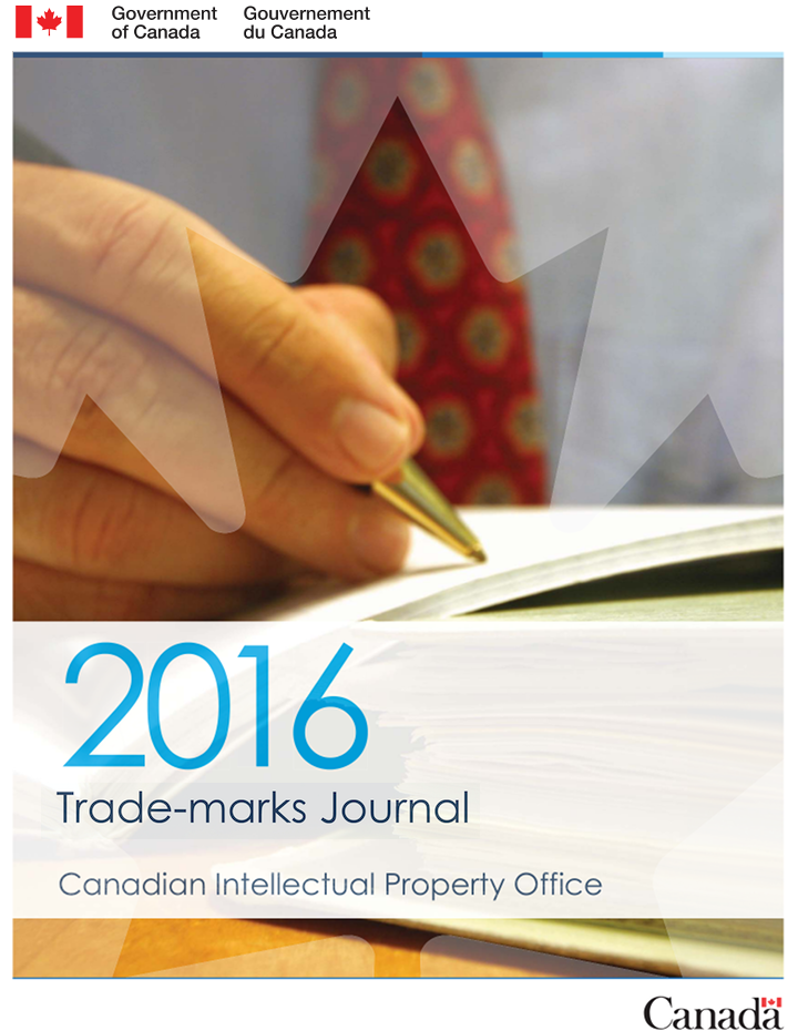 76b321e0 Trade-marks Journal Vol. 63 No. 3244