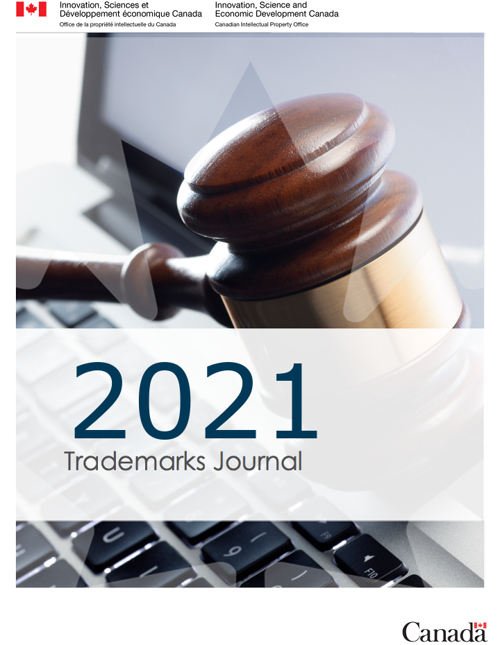 Trademarks Journal Vol 68 No 3457
